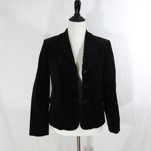 J. Crew Stretch Velvet Jacket Blazer Size 6
